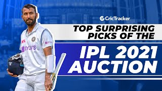 IPL 2021 - Top 5 Surprising Picks of IPL Auction, Unexpected Players Who Were Picked In 2021 Auction
