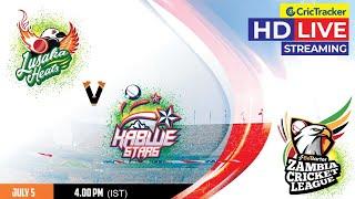 Zambia T10 League Live Streaming, Match 7, Lusaka Heats vs Kabwe Stars