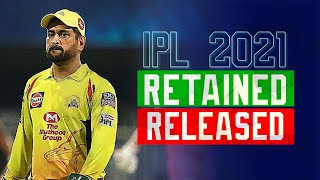 IPL 2021: Complete List Of Retained & Released Players By All 8 Teams, IPL 2021 Min-Auction List