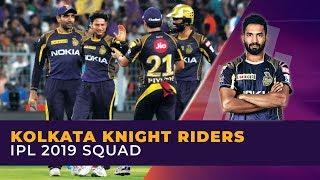 IPL 2019: Kolkata Knight Riders (KKR) Full Squad | Dinesh Karthik to lead and keep wickets
