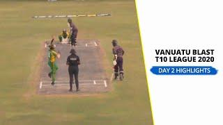 Vanuatu Blast T10 League 2020: Day 2 |Match 4 | Mighty Efate Panthers vs MT Bulls highlights