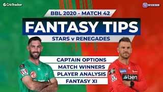 BBL, 42nd Match, 11Wickets Team, Melbourne Stars vs Melbourne Renegades, Full Team Analysis