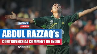Abdul Razzaq Gives Another Controversial Statement About India And More Cricket News