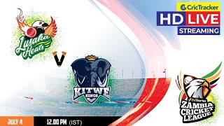 Zambia T10 League Live Streaming, Match 1, Lusaka Heats vs Kiwe Kings