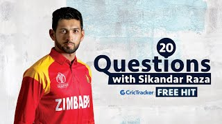 Freehit: 20 Questions with Zimbabwe all-rounder Sikandar Raza