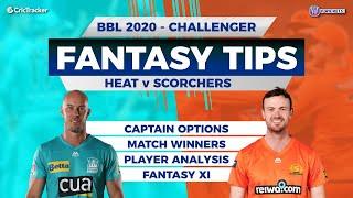BBL Challenger, 11Wickets Team, Perth Scorchers vs Brisbane Heat,  Full Team Analysis