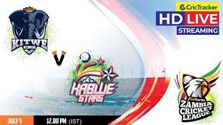 Zambia T10 League Live Streaming, Match 5, Kitwe Kings vs Kabwe Stars