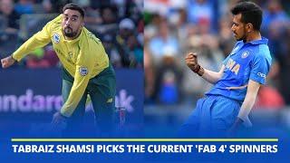 South Africa spinner Tabraiz Shamsi picks the current 'fab 4' spinners