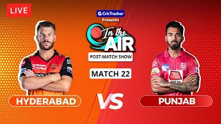 Hyderabad v Punjab - Post-Match Show - In the Air - Indian T20 League Match 22