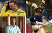 AB de Villiers, Nitish Rana, Dale Steyn, and Kane Williamson