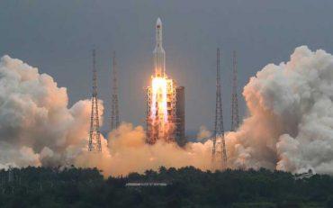 China rocket debris