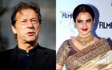 Imran Khan and Rekha