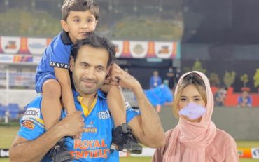 Irfan Pathan and Family