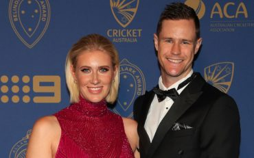 Jason Behrendorff and his wife
