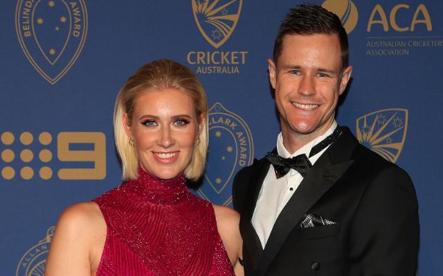 Jason Behrendorff and his wife