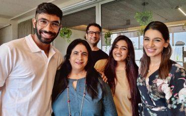 Jasprit Bumrah and Family