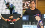 Junaid Khan, Shoaib Akhtar, Pat Cummins and Virat Kohli
