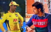 MS Dhoni and Parth Samthaan
