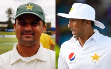 Moin Khan and Younis Khan