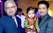 Piyush Chawla and his father