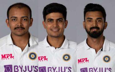 Prithvi Shaw, Shubman Gill and KL Rahul