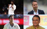 Ravindra Jadeja, Michael Vaughan, Pat Cummins, and Sunil Gavaskar