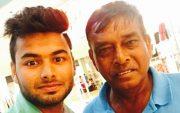 Rishabh Pant and Tarak Sinha