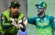 Sarfaraz Ahmed and Faf du Plessis