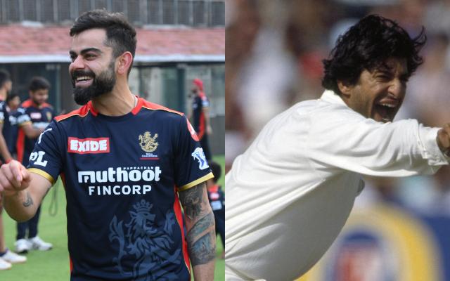 Virat Kohli and Wasim Akram