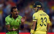 Wahab Riaz and Shane Watson