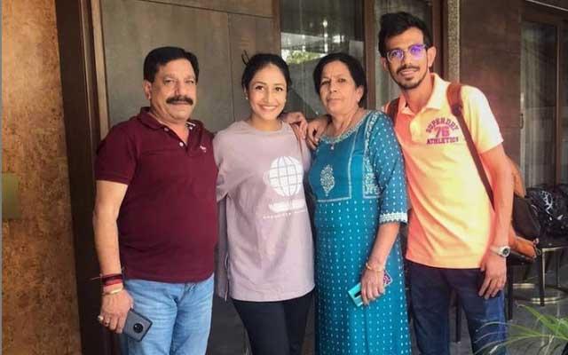 Yuzvendra Chahal's family