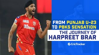 The Rise of Harpreet Brar | Story From U23 Cricket to Impressing Everyone In The IPL