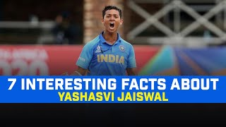 7 Interesting Facts About Future Of India Yashasvi Jaiswal |  Motivational Story Of A Small Town Boy