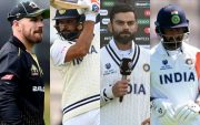 Aaron Finch, Rohit Sharma, Virat Kohli, Cheteshwar Pujara