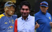 Andy Flower, Kumar Sangakkara, Desmond Haynes