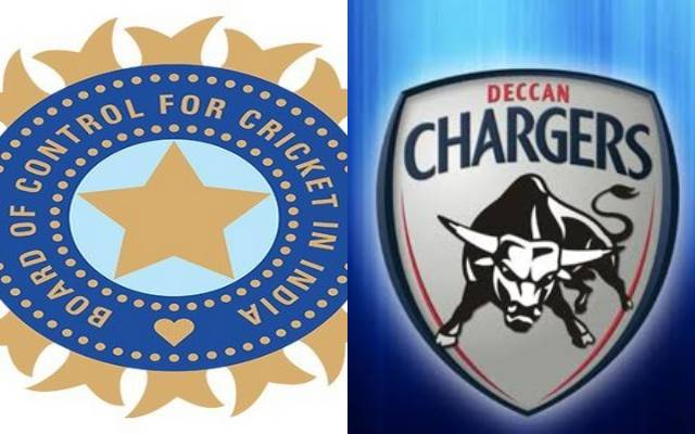 BCCI and Deccan Charges Logo