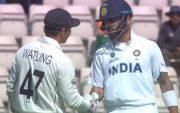 BJ Watling and Virat Kohli