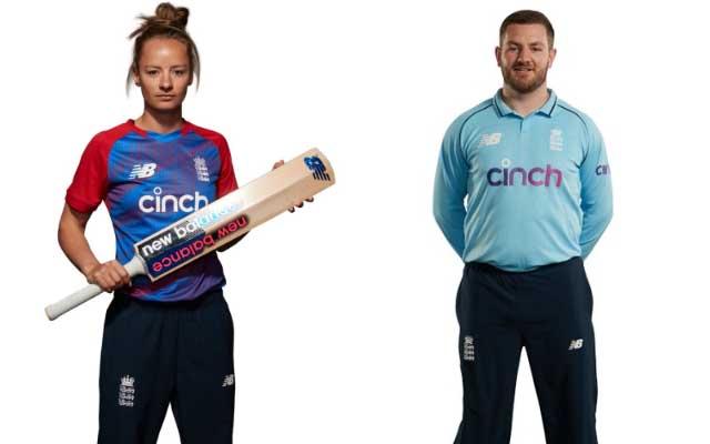 England's new T20I and ODI kits
