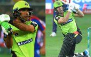 Fakhar Zaman and AB de Villiers