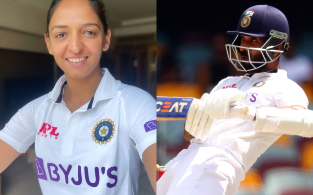 Harmanpreet Kaur and Ajinkya Rahane