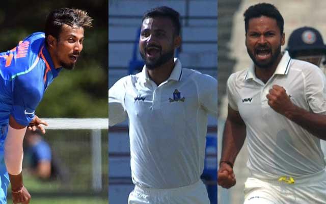 Ishan Porel, Akash Deep and Mukesh Kumar