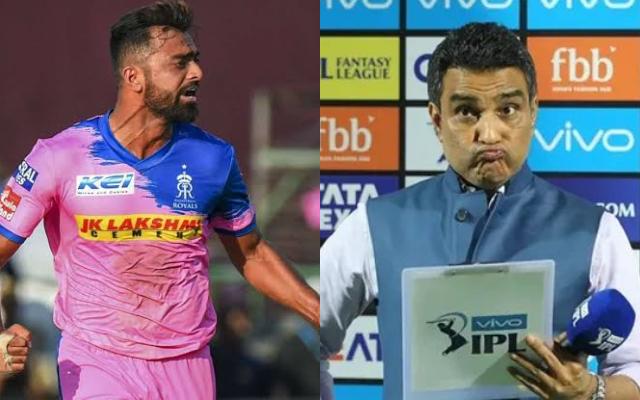Jaydev Unadkat and Sanjay Manjrekar
