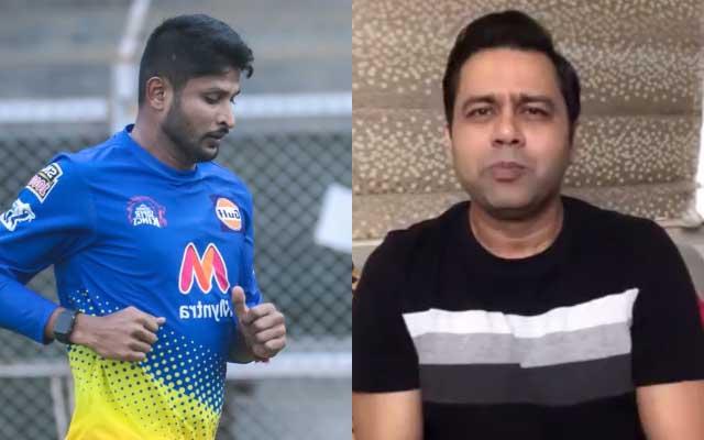 Krishnappa Gowtham and Aakash Chopra