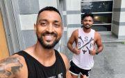 Krunal Pandya and Sanju Samson