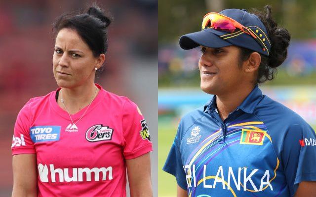 Marizanne Kapp and Chamari Athapaththu