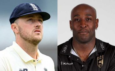 Michael Carberry and Ollie Robinson