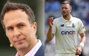 Michael Vaughan and Ollie Robinson