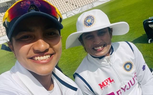 Mithali Raj and Sneh Rana