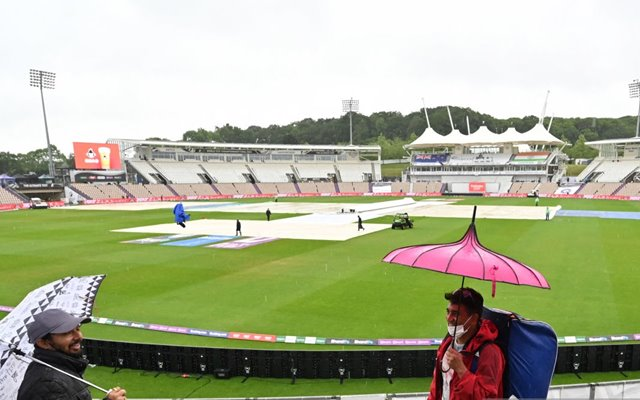 WTC Final: First session on Day 1 washed out due to persistent drizzle