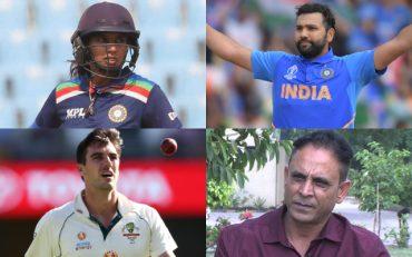 Pat Cummins, Mithali Raj, Rohit Sharma, and Abdur Rehman